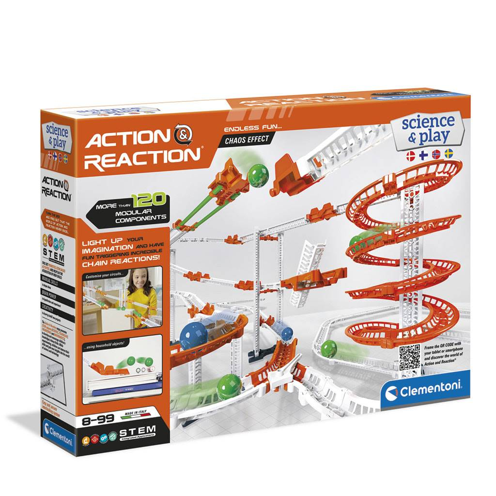 Clementoni Action & Reaction Premium painovoimasetti
