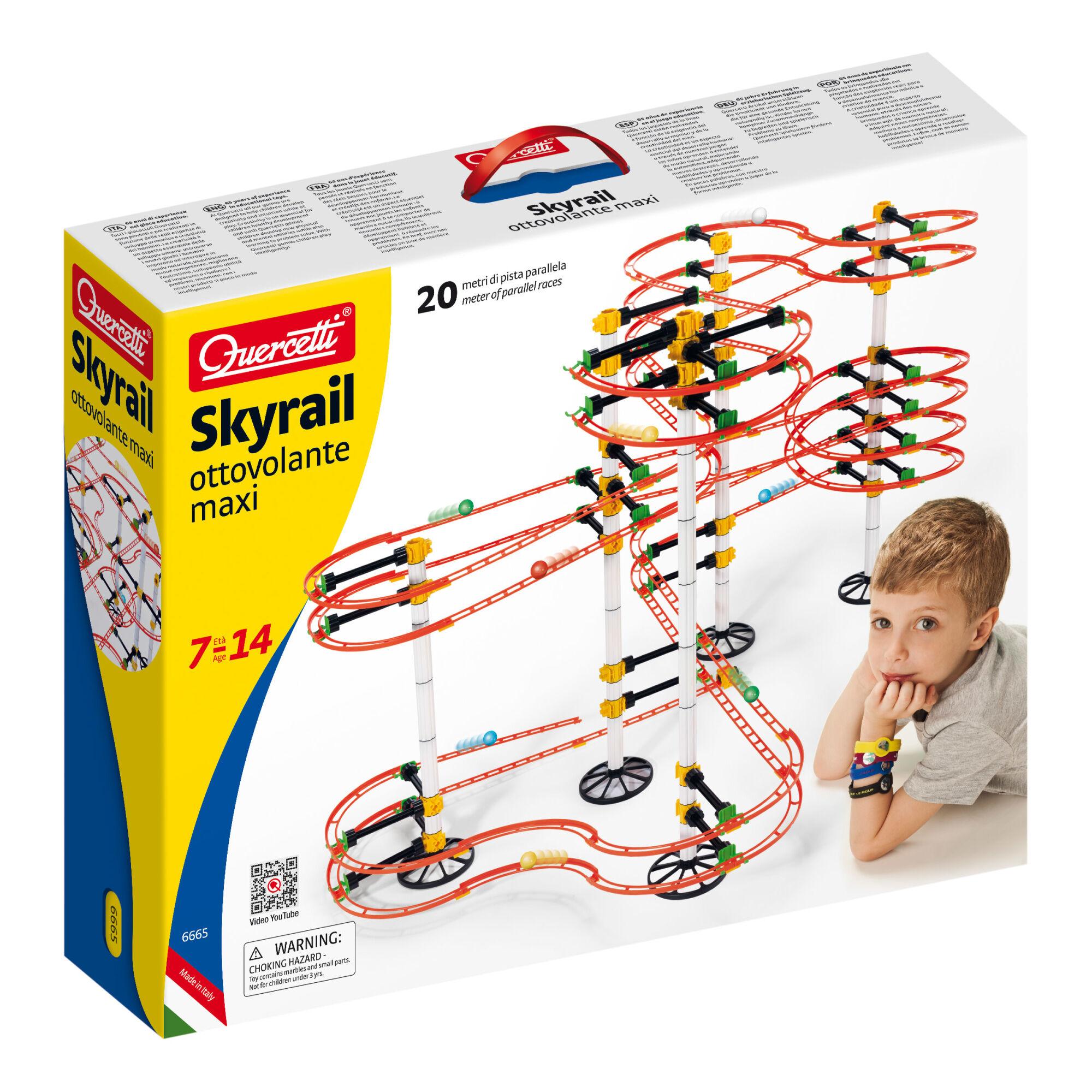 Quercetti Skyrail Ottovolante maxi kuularata