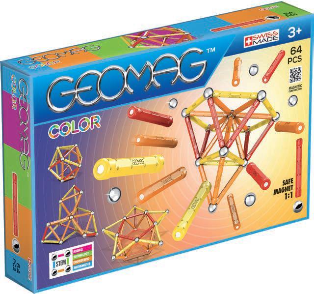 Geomag Color 64 magneettinen rakennussarja