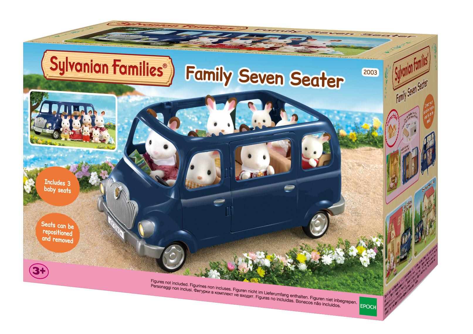 Sylvanian Families Iso perheauto