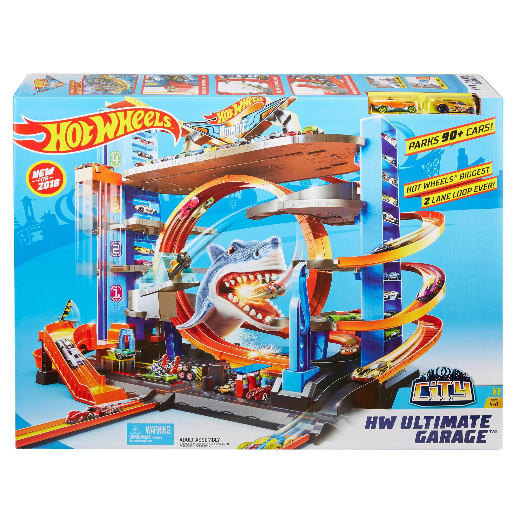 Hot Wheels Ultimate Mega Garage parkkitalo