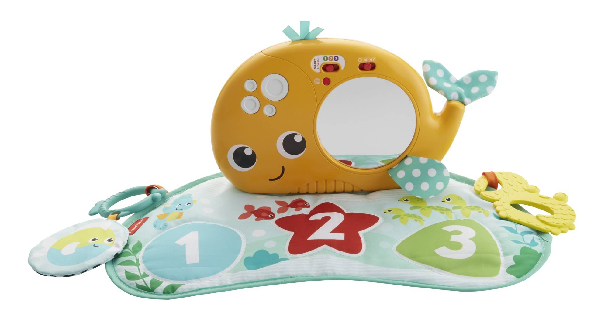 Fisher-Price & Learn Discovery Whale leikkimatto