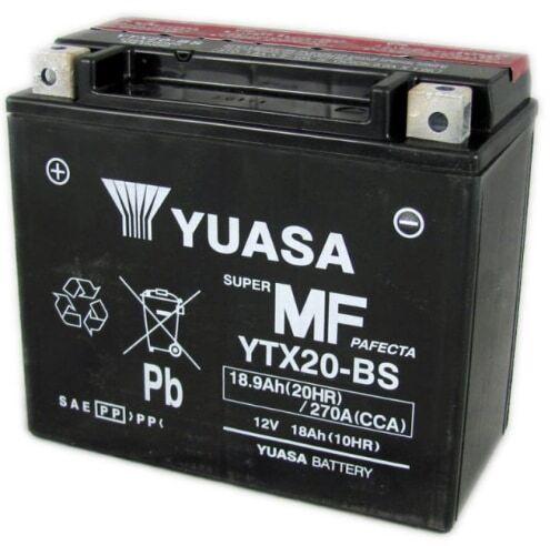 Yuasa YTX20-BS 12V 18Ah moottoripyöräakku