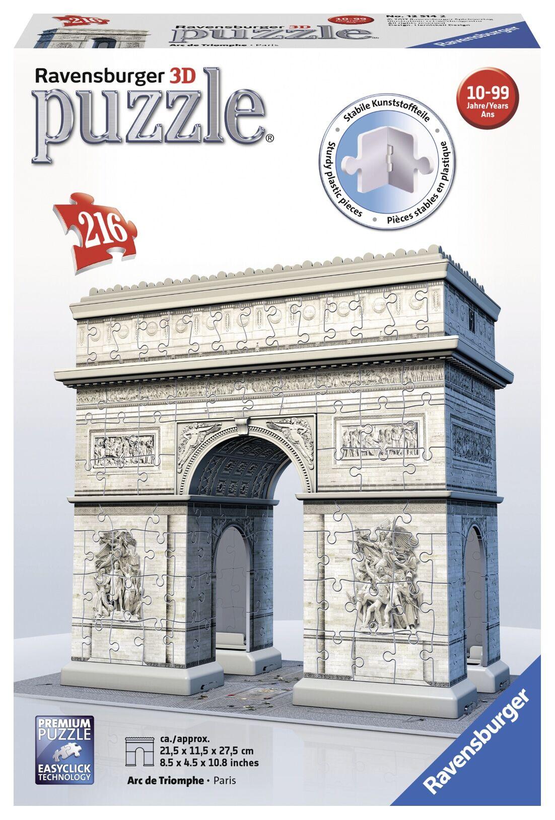 Ravensburger 3D Arc de Triomphe 216p palapeli