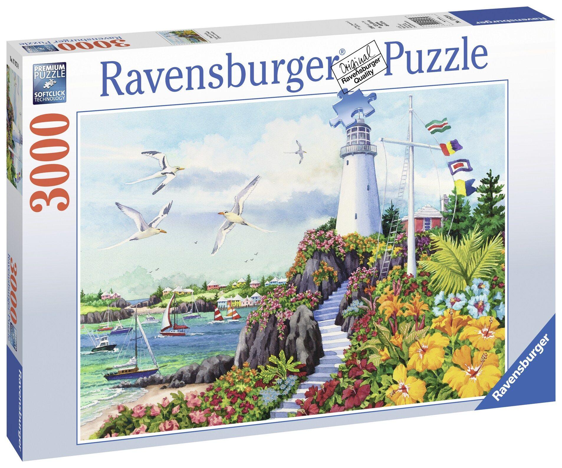 Ravensburger Coastal Paradise 3000p palapeli