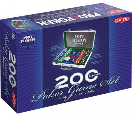 Tactic Pro Poker 200 merkkiä pokerisalkku
