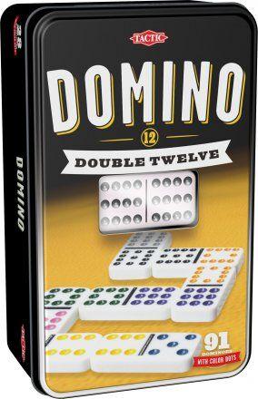 Tactic D12 Domino metallirasiassa peli