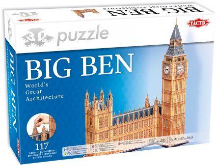 Tactic Big Ben 3D palapeli