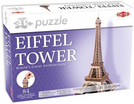Tactic Eiffel Tower 3D palapeli