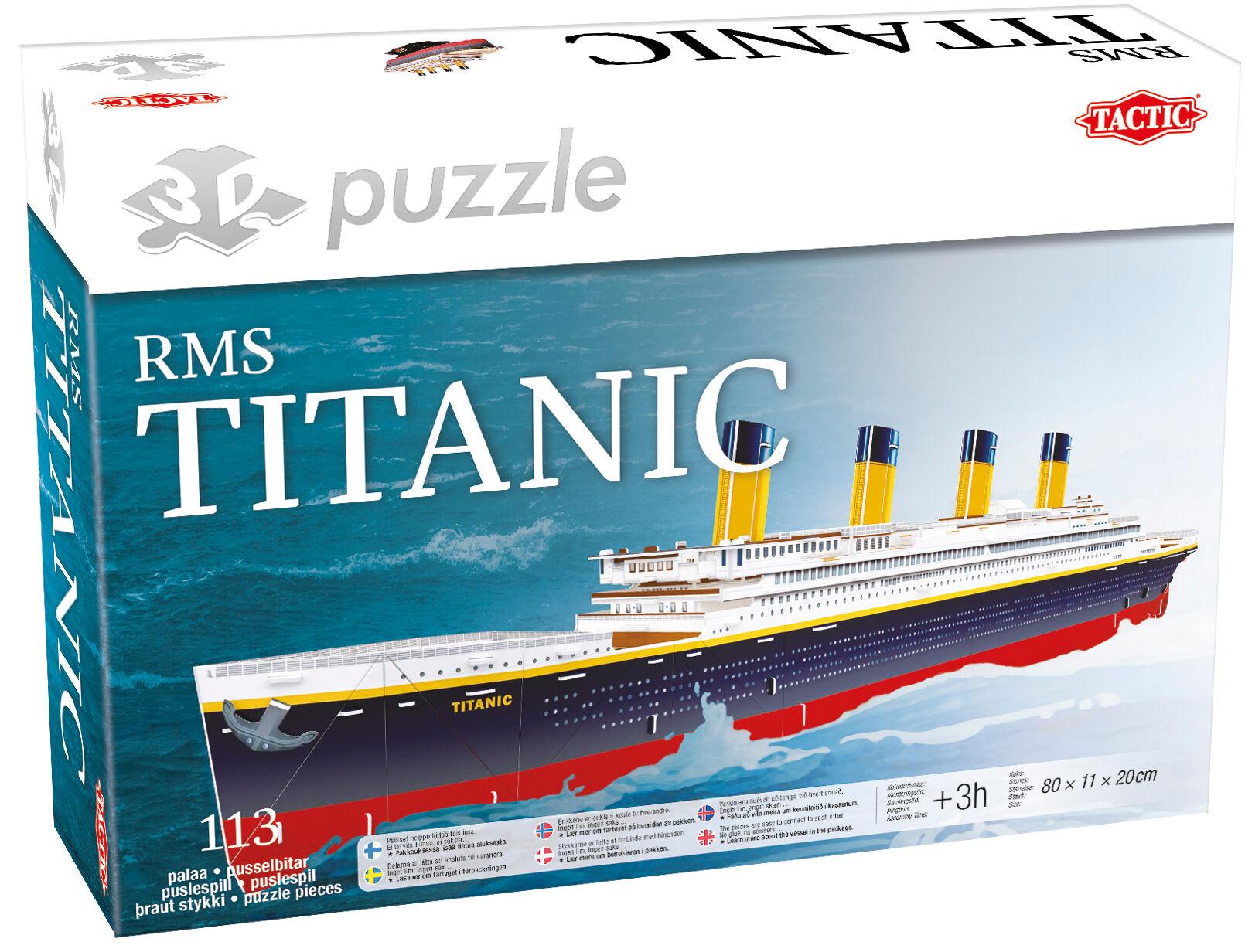 Tactic RMS Titanic 3D palapeli