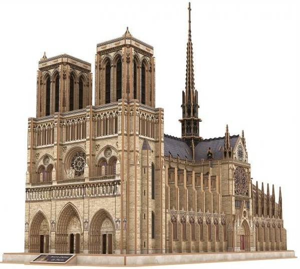 Tactic Notre Dame De Paris 3D palapeli