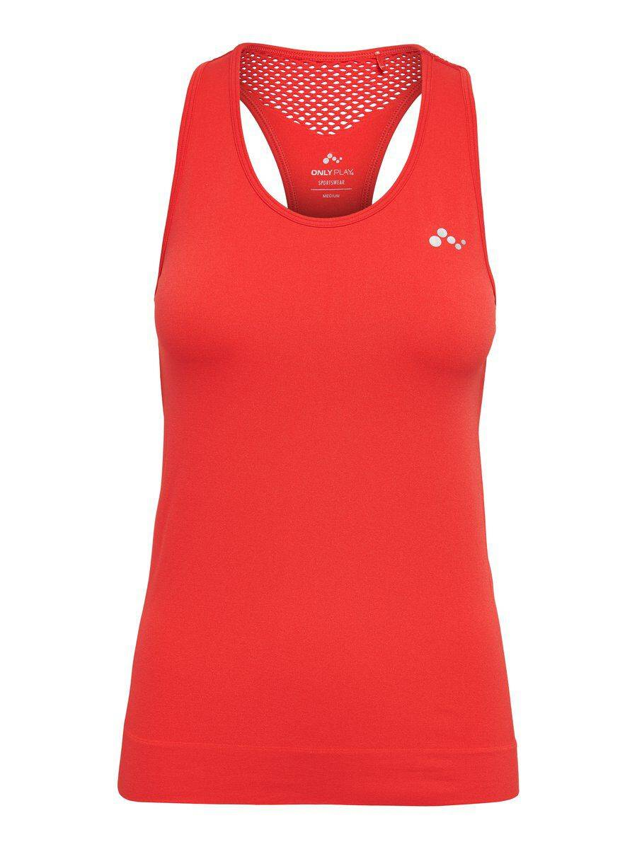 Image of ONLY Seamless Sports Top Women Red