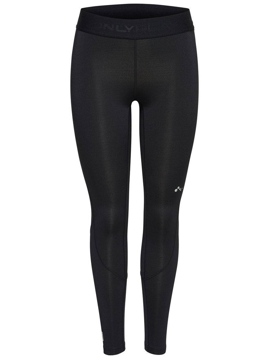 Image of ONLY Solid Training Tights Women Black