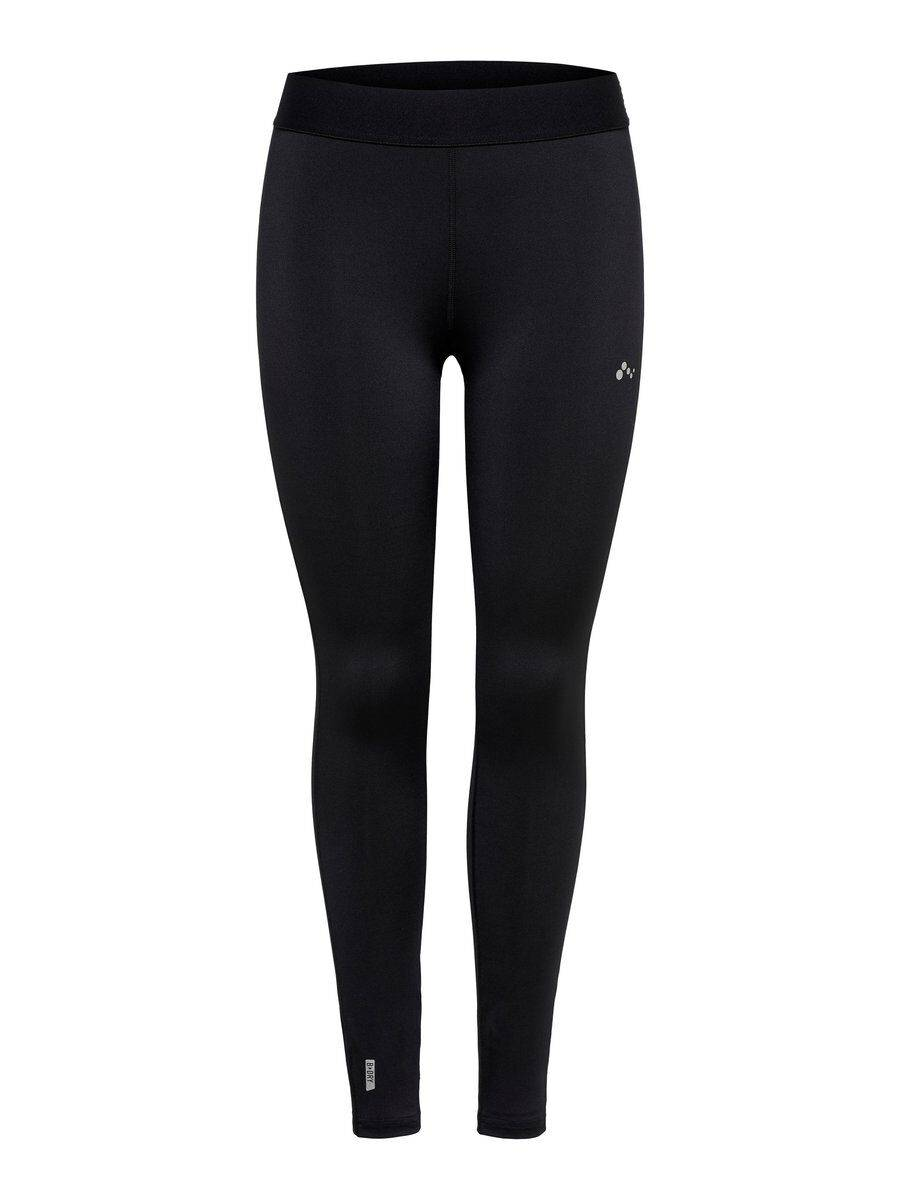 Image of ONLY Solid Coloured Training Tights Women Black