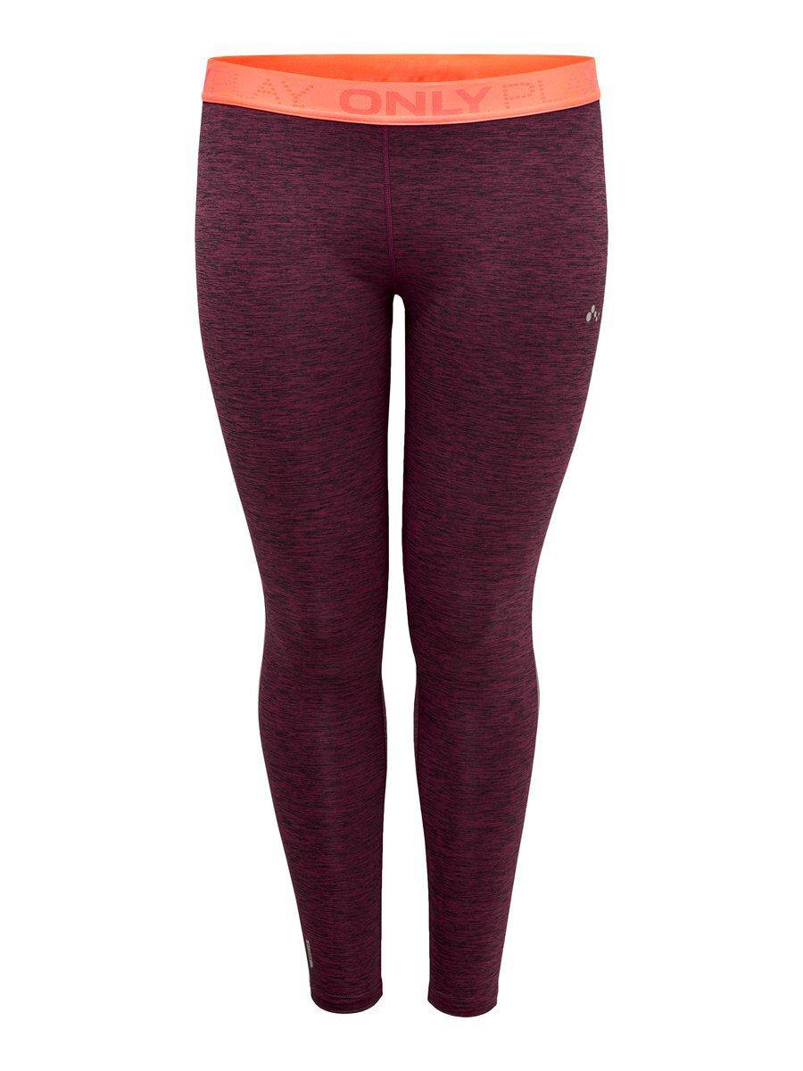 Image of ONLY Curvy Training Tights Women Pink