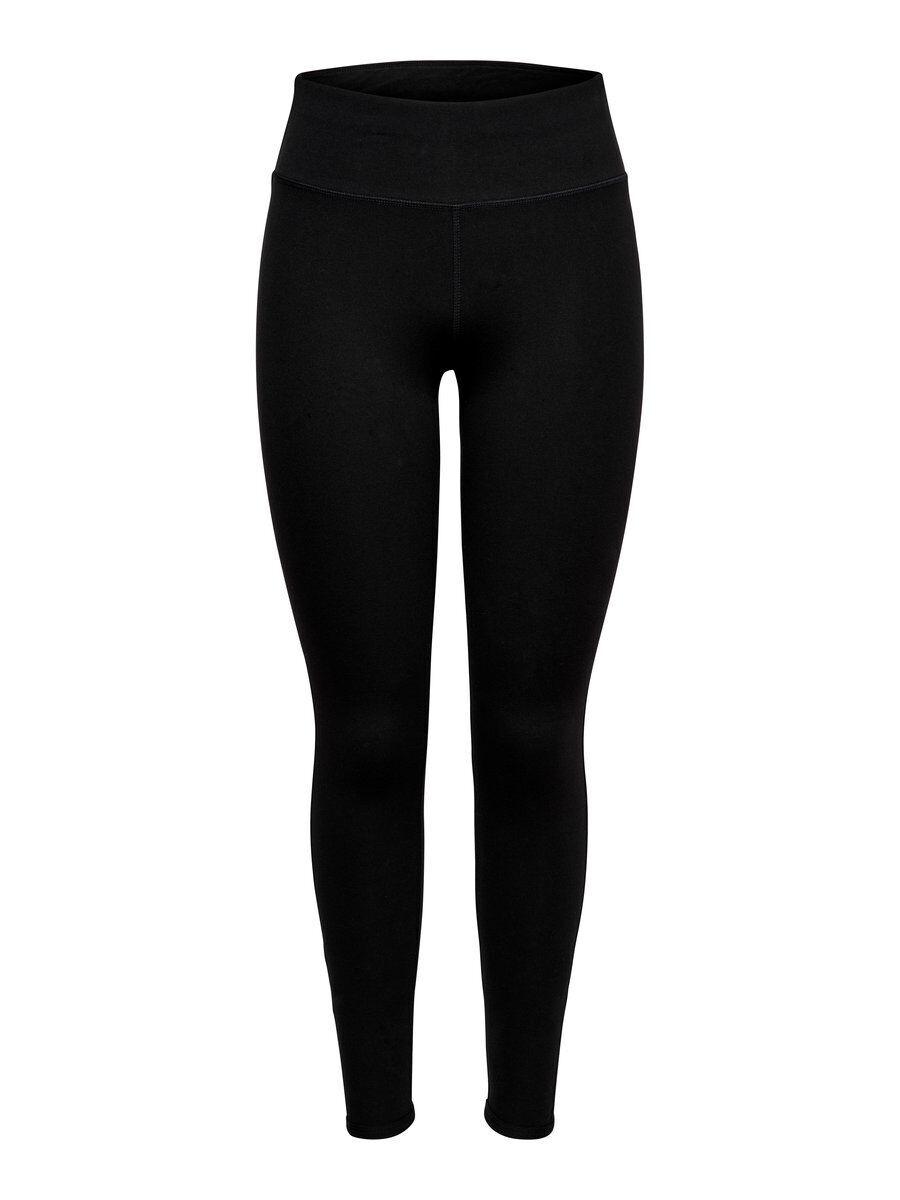 Image of ONLY High Waist Jersey Sports Leggings Women Black