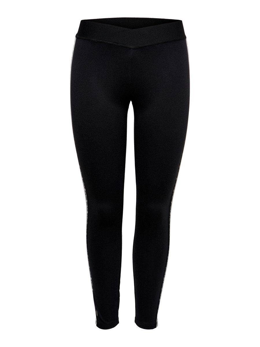 Image of ONLY Contrast Training Tights Women Black