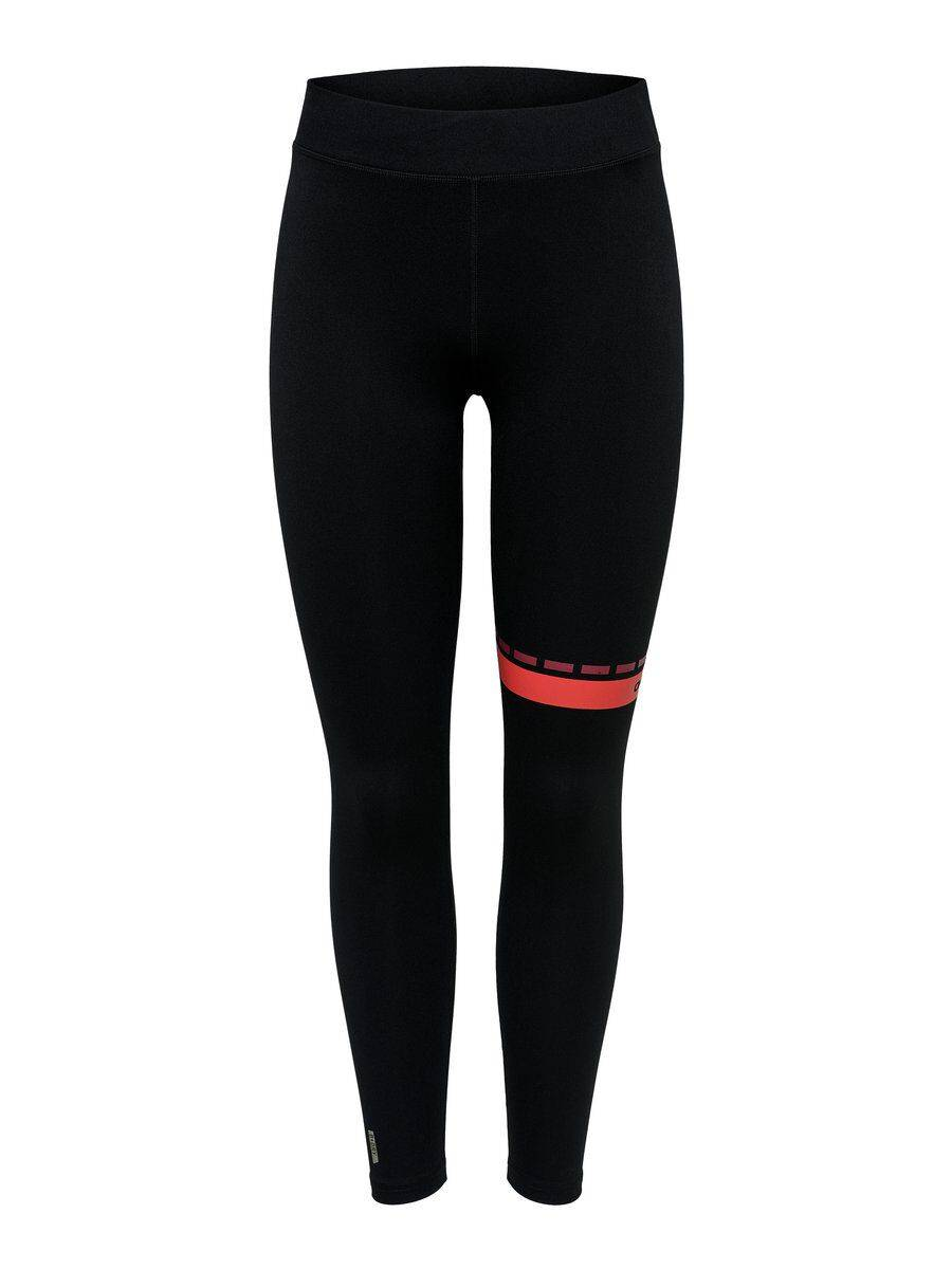 Image of ONLY Detailed Training Tights Women Black