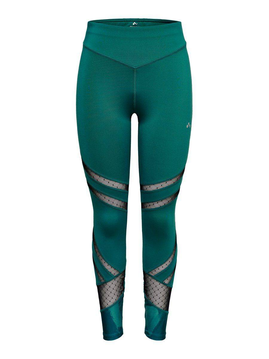 Image of ONLY Mesh Training Tights Women Green