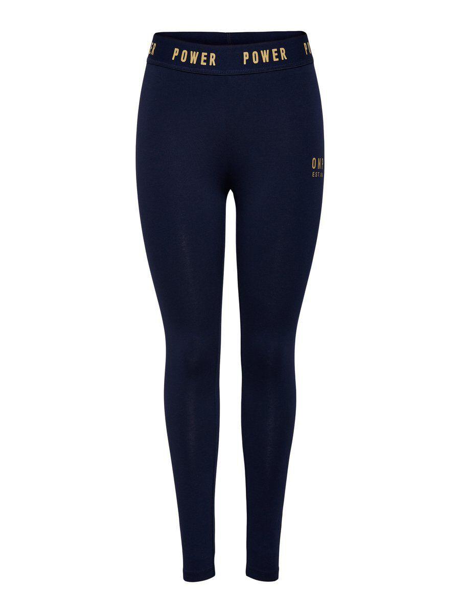 Image of ONLY Jersey Leggings Women Blue