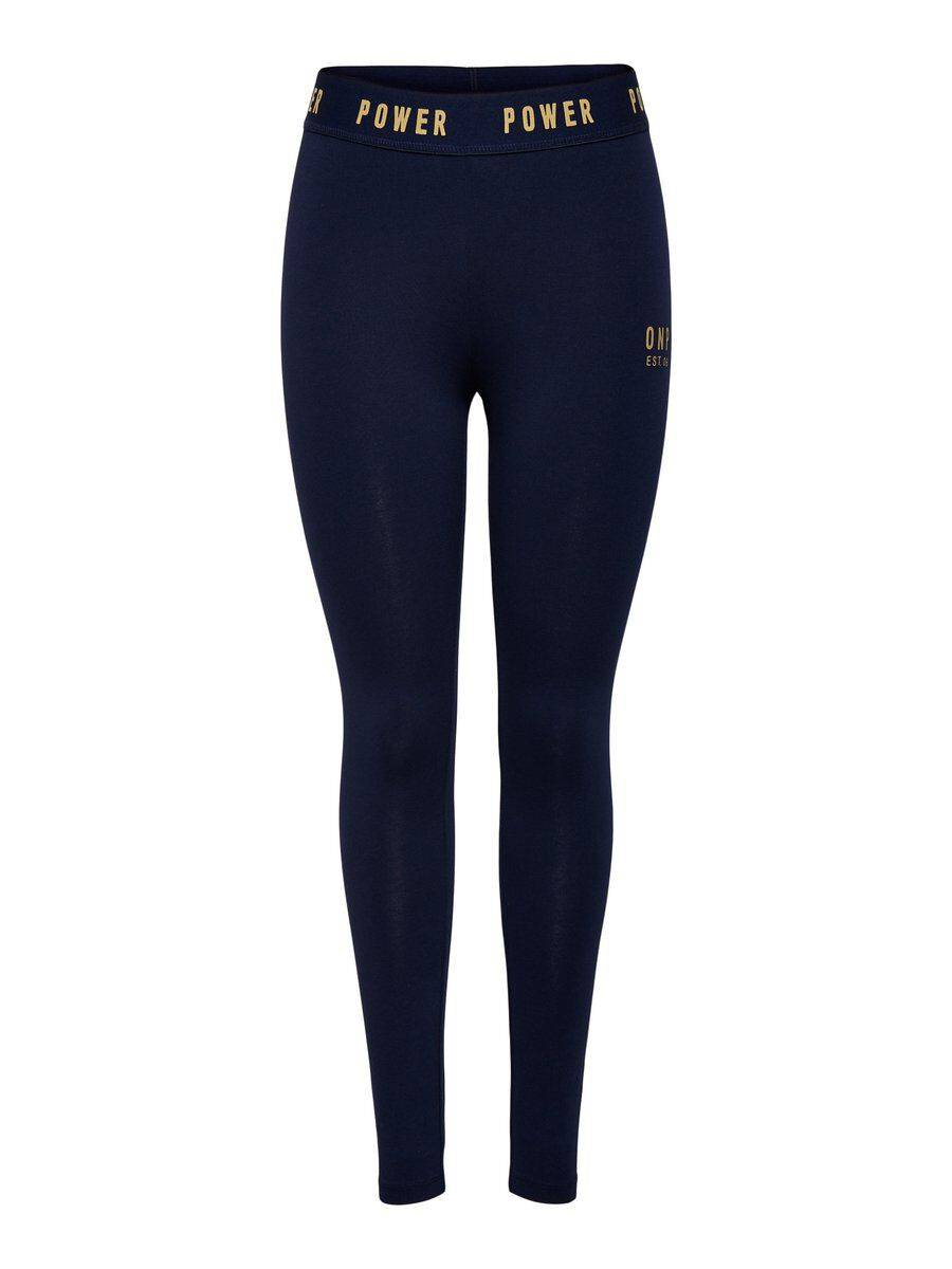 Image of ONLY Jersey Leggings Women Blue