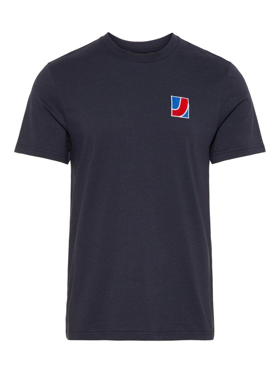 J.LINDEBERG Brand T-shirt Men Blue