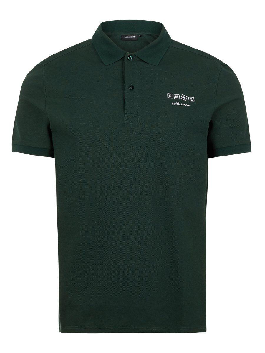 J.LINDEBERG Brand Polo Shirt Men Green