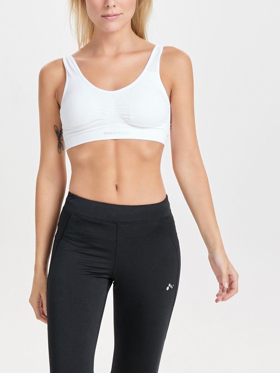 Image of ONLY Seamless Sports Bra Women White
