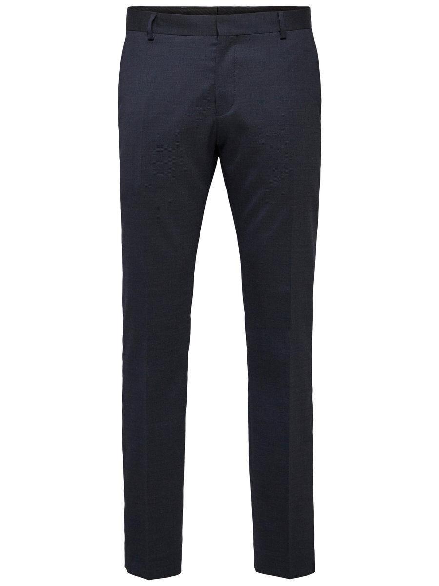 SELECTED Slim Fit - Suit Trousers Men Blue