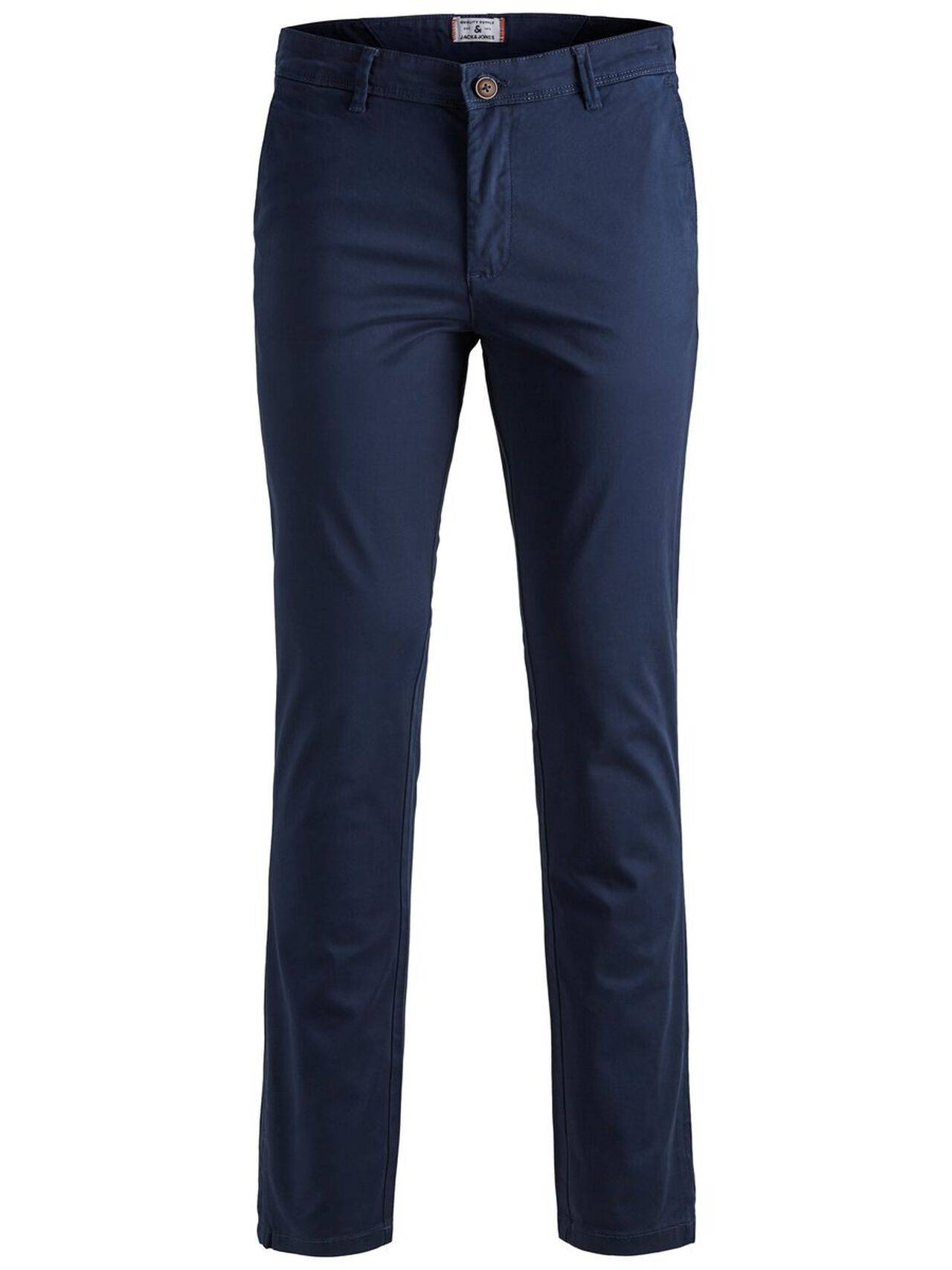 JACK & JONES Marco Bowie Sa Navy Blazer Slim Fit Chinos Men Blue NavyBlazer