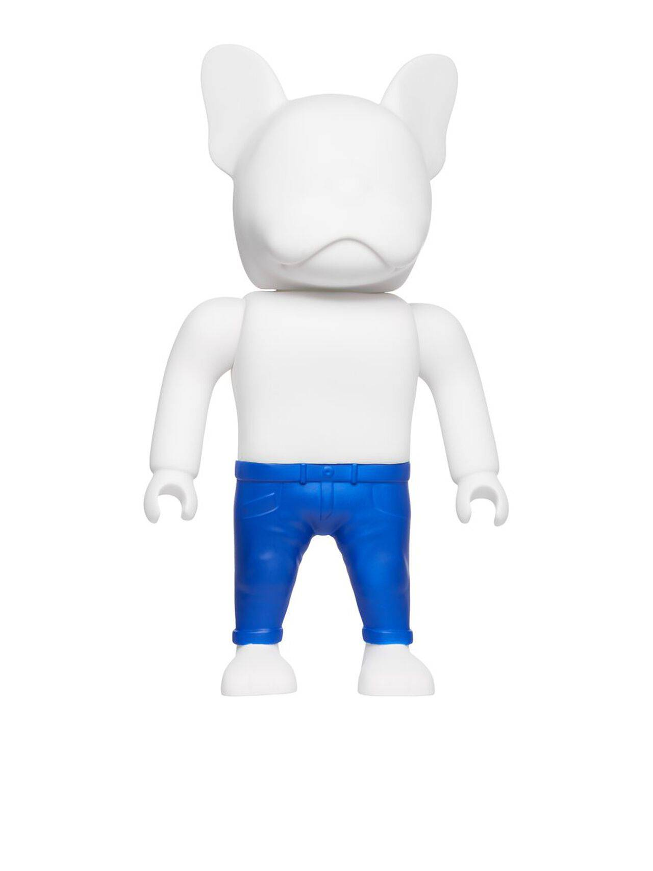 JACK & JONES Bulldog Figure Unisex Blue Marketing