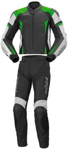Büse Laguna Kaksiosainen puku Musta/valkoinen/vihreä