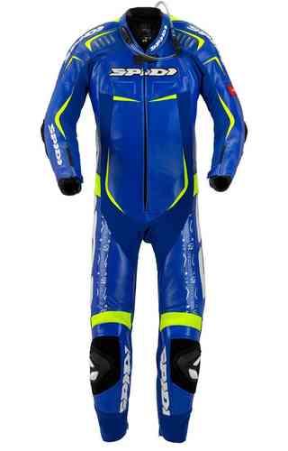 Spidi Track Wind Replica Evo Yksiosainen puku Sininen