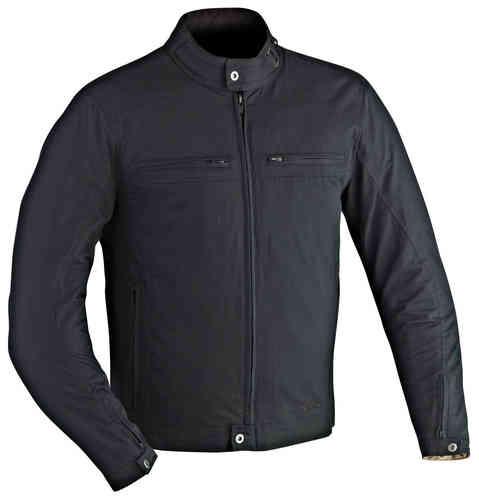 Ixon Harlem Tekstiili takki Musta