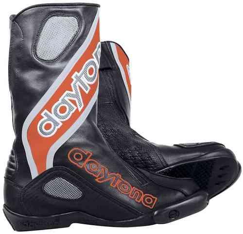 Daytona Evo Sports Boot Musta/punainen