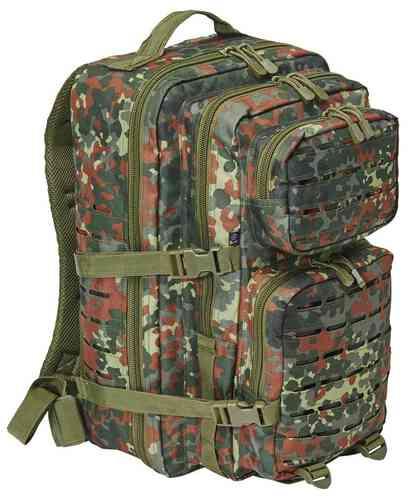 Brandit US Cooper Lasercut L Reppu Armeijanvihreä