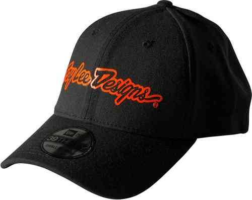 Troy Lee Designs Brand 2.0 Hattu Musta/punainen