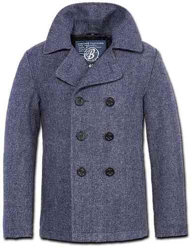Brandit Pea Coat Takki Sininen