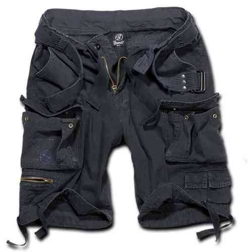 Brandit Savage Shortsit Musta