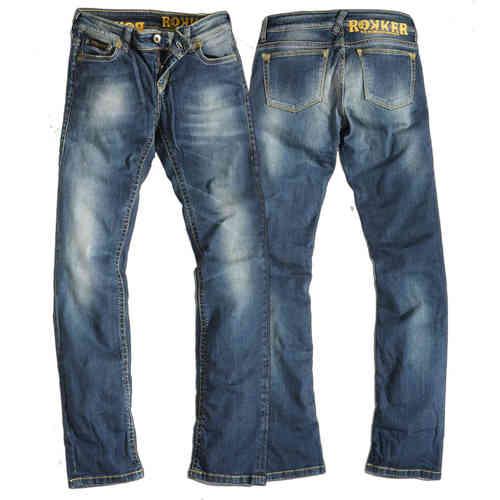 Rokker The Diva Jeans Lady Sininen