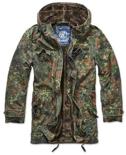 Brandit BW Parka takki Armeijanvihreä