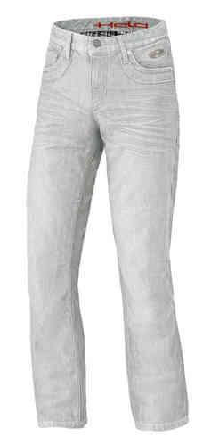 Held Hoover Stretch Moottoripyörä farkut housut Vaaleanharmaa