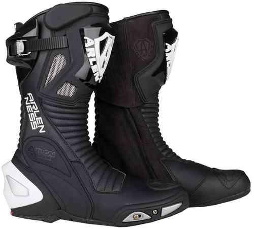 Arlen Ness Pro Shift Moottoripyörä saappaat Musta
