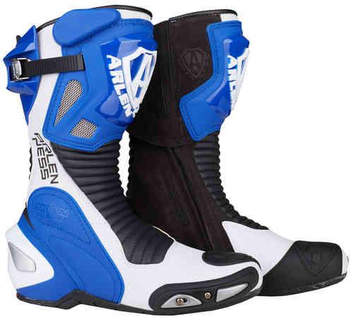 Arlen Ness Pro Shift Moottoripyörä saappaat Sininen/valkoinen/musta