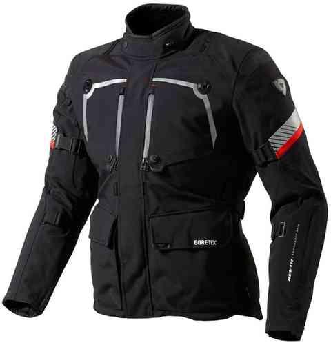 Revit Poseidon Gore-Tex Tekstiili takki Musta