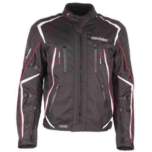 Modeka Sport Mistral Tekstiili takki Musta