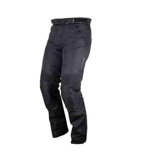 Modeka Ottawa Textil housut Musta