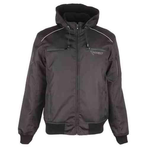 Modeka Raid Tekstiili takki Musta