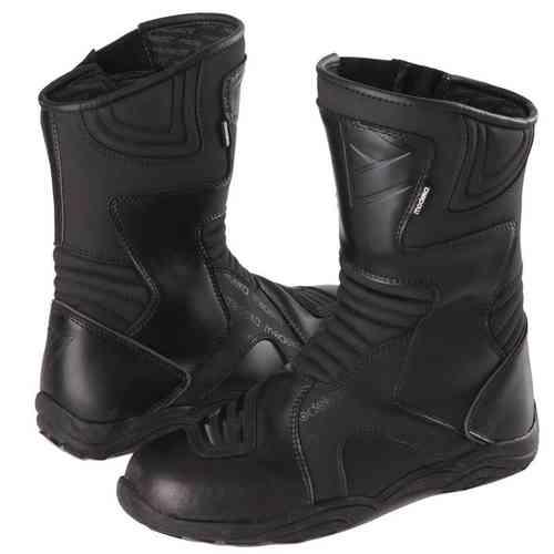 Modeka Boots Grand Tour Moottoripyörä saappaat Musta