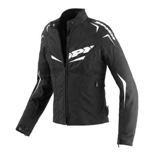 Spidi NW 200 Tex Tekstiili takit Musta/valkoinen